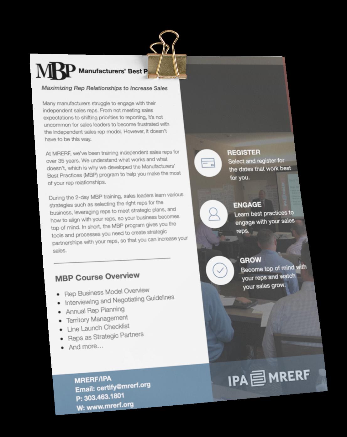 MBP Flyer